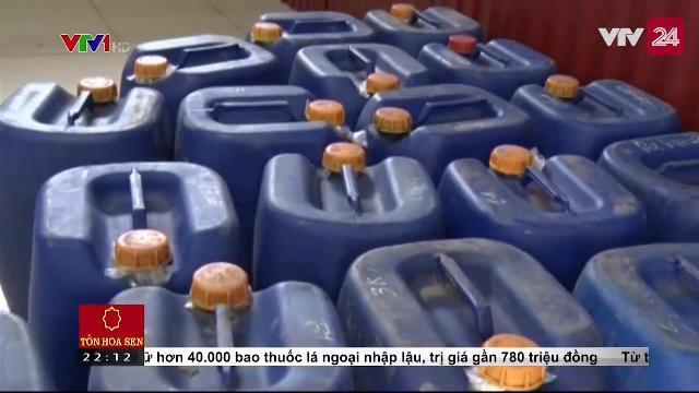 Hưng Yên: Thu giữ và tiêu hủy gần 8.000 lít rượu không rõ nguồn gốc | VTV24