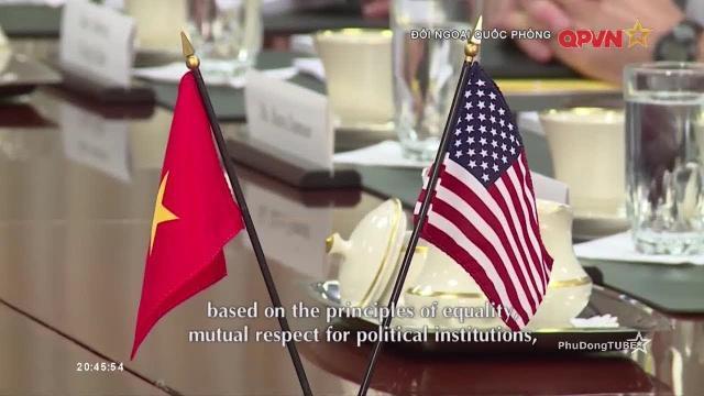Kết quả nổi bật chuyến thăm Mỹ của Đại tướng Ngô Xuân Lịch | Đối ngoại Quốc phòng 14/8/2017