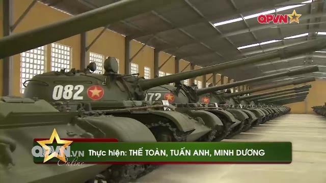 Thời sự Quốc phòng Việt Nam ngày 11/4/2017: Niêm cất Tăng thiết giáp sẵn sàng chiến đấu