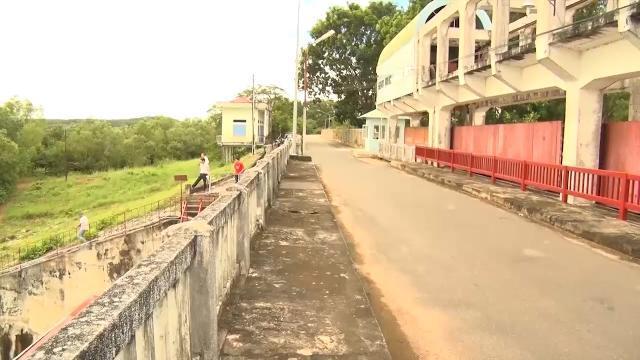 Kiến nghị sửa chữa nhiều hạng mục công trình hồ Dầu Tiếng bị xuống cấp