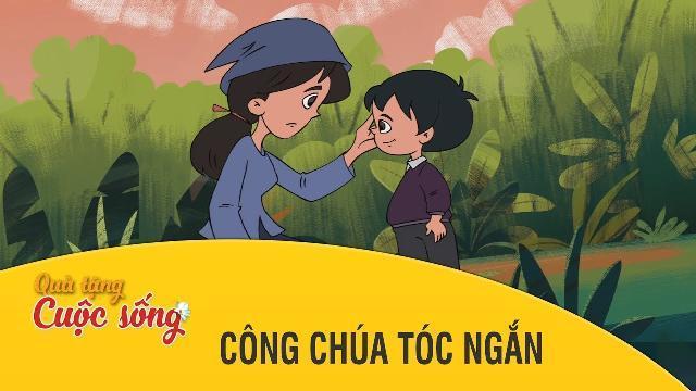 Quà tặng cuộc sống - CÔNG CHÚA TÓC NGẮN -Phim hoạt hình hay nhất 2017 - Phim hoạt hình Việt Nam 2017