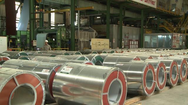Áp thuế chống bán phá giá với thép Trung Quốc và Hàn Quốc