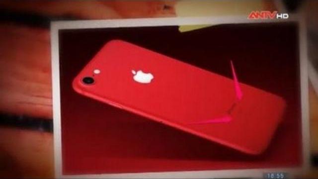 Tín đồ Apple mê mẩn bộ đôi iPhone 7/7Plus đỏ rực rỡ
