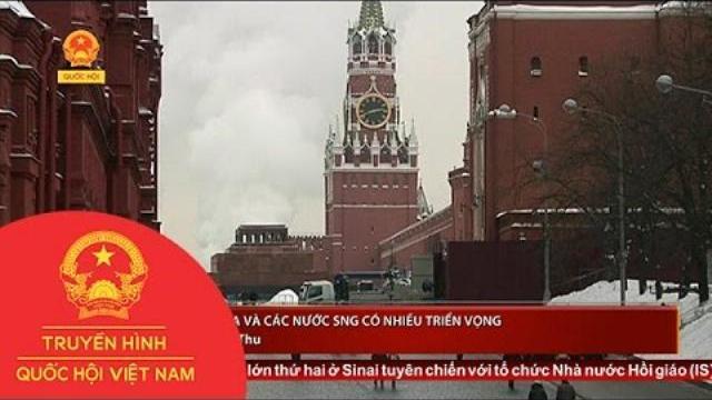 Kinh tế Nga và các nước SNG có nhiều triển vọng | Thời sự | THQH