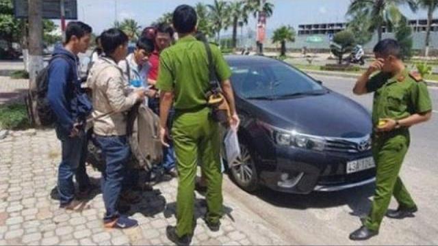 """Nghi án quái xế đập phá ô tô """"giải rượu"""" ở Đà Nẵng"""