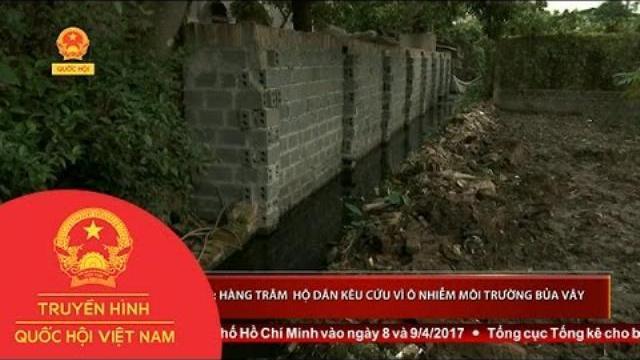 Thời sự - Hưng Yên: Hàng trăm hộ dân kêu cứu vì ô nhiễm môi trường bủa vây