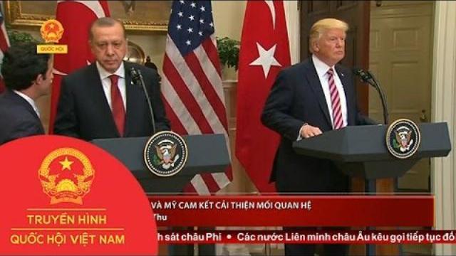 Thổ Nhĩ Kỳ và Mỹ cam kết cải thiện mối quan hệ   Thời sự   THQHVN
