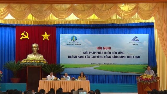 Khai mạc Hội nghị Giải pháp phát triển bền vững ngành hàng lúa gạo vùng ĐBSCL