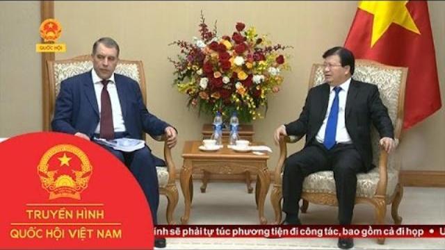 Phó Thủ tướng Trịnh Đình Dũng tiếp Thứ trưởng Bộ Năng lượng Nga | Thời Sự |THQHVN