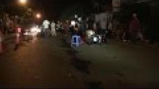 Xe ô tô đâm liên hoàn 3 xe máy làm 8 người bị thương ở Đác Lắc