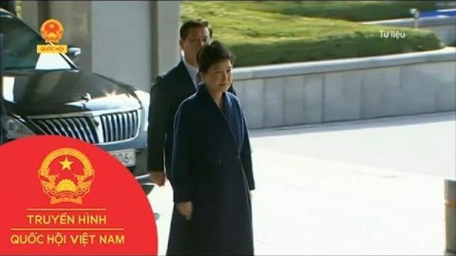 Thời sự - Hàn Quốc: Bà Park Geun-Hye Bị Truy Tố