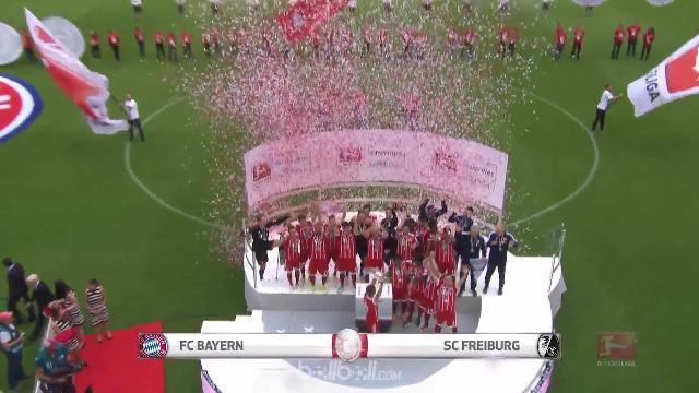 Tin Thể Thao 24h Hôm Nay (19h45 - 21/5): Bayern Munich Thắng Đậm Trong Ngày Chia Tay Lahm và Alonso