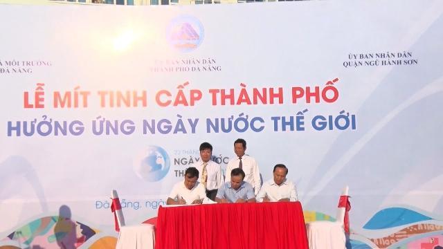 Tin tức 24h: Đà Nẵng tổ chức nhiều hoạt động hưởng ứng Ngày Nước thế giới 2017