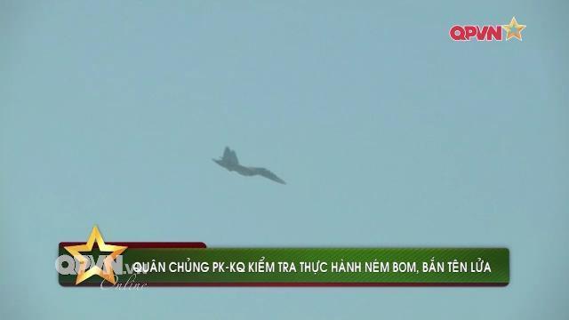 Tin nóng quân sự Việt Nam tuần qua: Tiêm kích SU-30MK2 thực hành bắn tên lửa