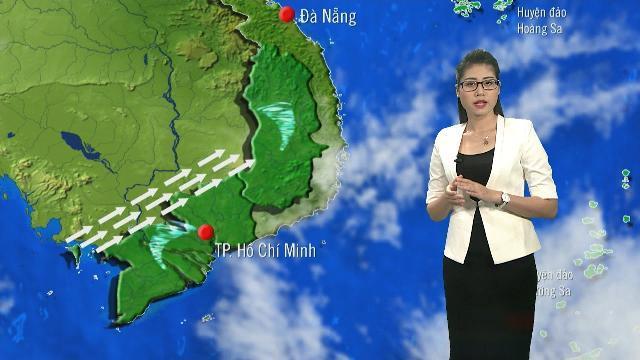 Tin Dự Báo Thời Tiết Hôm Nay (19h55 - 24/4/2017) | Bản Tin Thời Tiết Hôm Nay