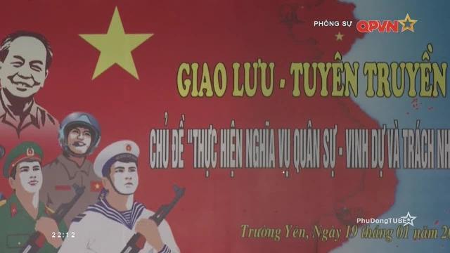 Phóng sự: Mùa tuyển quân tại Ninh Bình