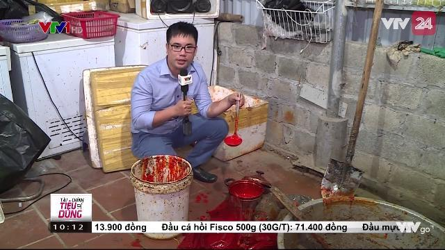 Hà Nội: Cơ Sở Chế Biến Cua Xay Trộn Hóa Chất - VTV24