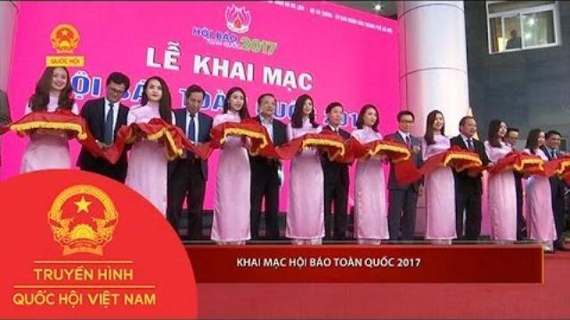 Thời sự - Khai mạc Hội báo toàn quốc 2017