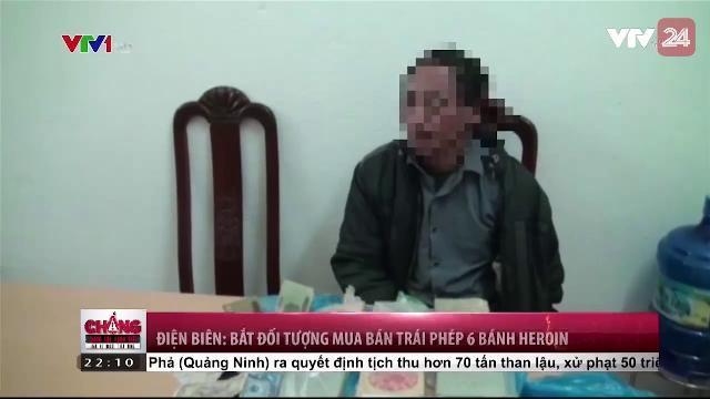 Điện Biên: Bắt đối tượng mua bán trái phép 6 bánh Heroin | VTV24