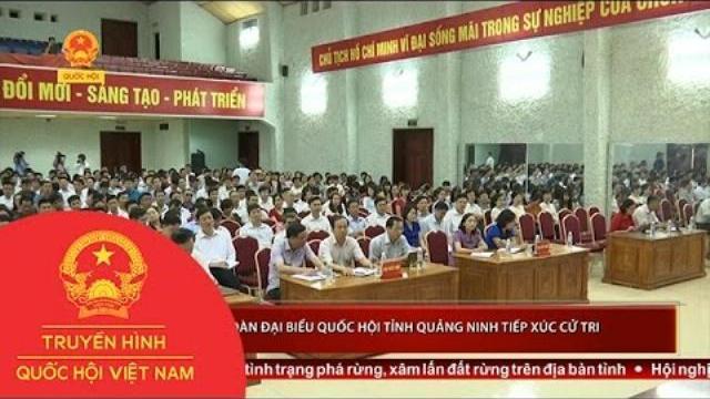 Thời sự - Đoàn Đại biểu Quốc hội tỉnh Quảng Ninh tiếp xúc cử tri