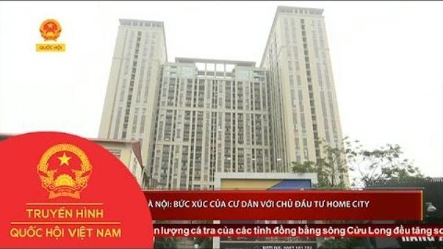 Thời sự - Hà Nội: Bức xúc của cư dân với chủ đầu tư Home City