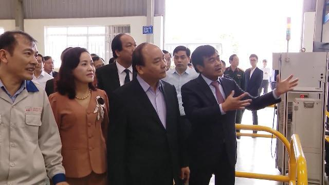 Thủ tướng thăm Tổ hợp dự án sản xuất ô tô Huyndai Thành Công, Ninh Bình