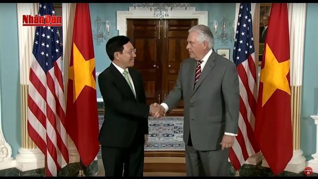Tin Thời Sự Hôm Nay (11h30 - 21/4/2017): Phó Thủ Tướng Phạm Bình Minh Thăm Chính Thức Hoa Kỳ
