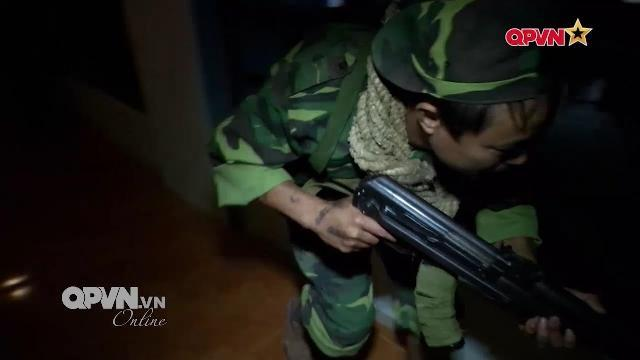 Đại đội trinh sát tinh nhuệ của BCHQS tỉnh Hòa Bình