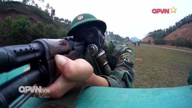 Bia tập bắn tự động ở Sư đoàn 316, Quân khu 2