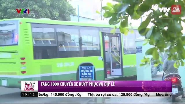 Tăng 1000 chuyến xe buýt phục vụ dịp lễ | VTV24