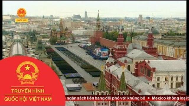 Thời sự - Nga Duyệt Binh Kỷ Niệm 72 Năm Ngày Chiến Thắng Vĩ Đại