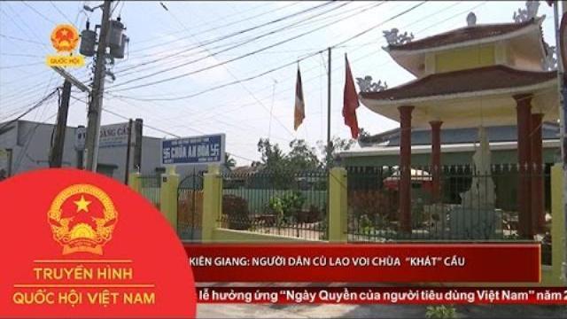 """Thời sự - Kiên Giang: Người dân Cù lao Voi Chùa """"khát"""" cầu"""