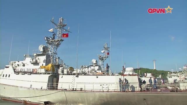 Bảo dưỡng tàu chiến sau chuyến tuần tra biển ở Lữ đoàn127