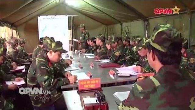 Chuẩn bị diễn tập khu vực phòng thủ Tỉnh Yên Bái