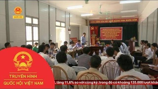 Thời sự - Hội Đồng Dân Tộc Của Quốc Hội Giám Sát Tại Huyện Sông Mã