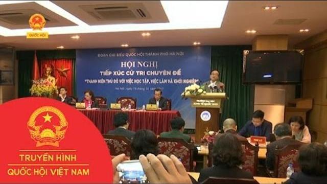 Thời sự - Đoàn Đại biểu Quốc hội Hà Nội tiếp xúc cử tri chuyên đề