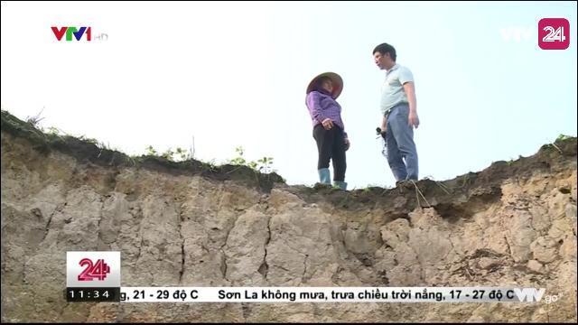 Tin Tức VTV24 - Ngày 04/04/2017: Thái Nguyên Hàng Trăm Hộ Dân Bị Nứt Nhà, Sụt Lún Do Khai Thác Quặng