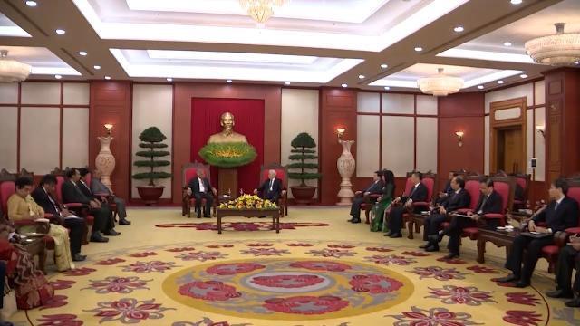 Tin Thời Sự Hôm Nay (22h - 17/4/2017): Tổng Bí Thư Nguyễn Phú Trọng Tiếp Thủ Tướng Sri Lanka