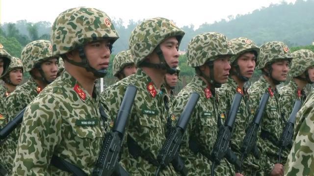 Quân khu 3 ra quân huấn luyện chiến sĩ mới