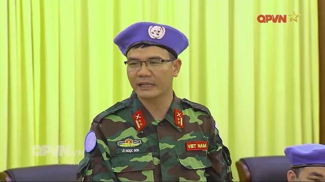 Thêm 3 sĩ quan Quân đội Việt Nam tham gia gìn giữ hòa bình tại Trung Phi
