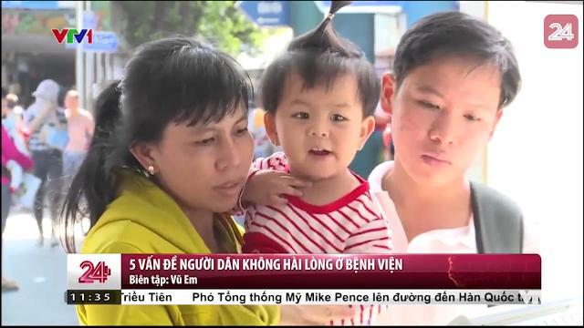 Điểm tên 5 vấn đề người dân không hài lòng bệnh viện qua kiot khảo sát | VTV24