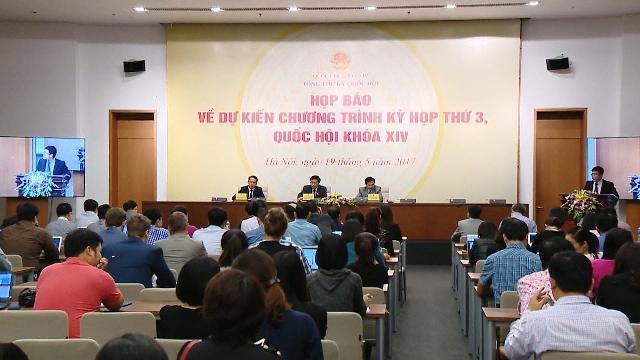 Kỳ họp thứ 3 Quốc hội khóa XIV: Thông qua 13 dự án luật quan trọng