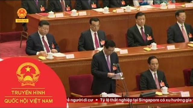 Thời sự - Quốc hội Trung Quốc xác định mục tiêu tăng trưởng ổn định