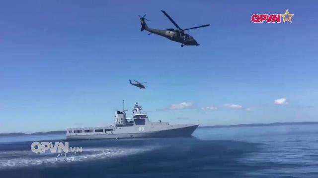 Dấu ấn của Hải quân Việt Nam tại các cuộc diễn tập quốc tế