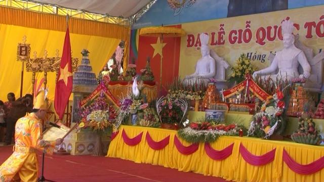 Các địa phương trên cả nước tổ chức Lễ Giỗ Tổ Hùng Vương