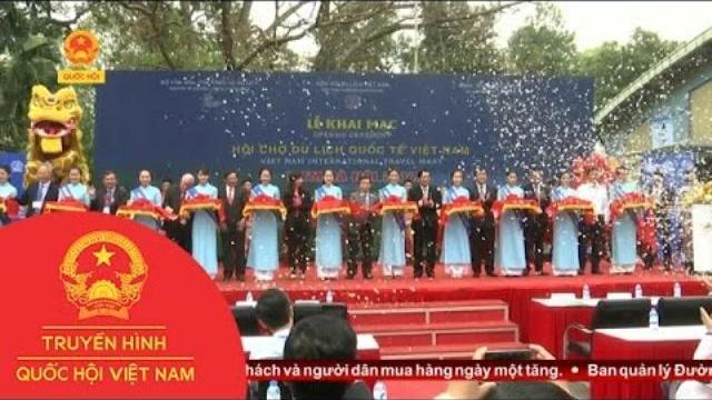 Thời sự - Sôi Động Khai Mạc Hội Chợ Du Lịch Quốc Tế Việt Nam 2017