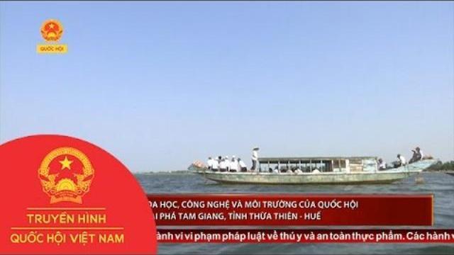 Thời sự - Ủy ban Khoa học, Công nghệ và Môi trường của Quốc hội khảo sát tại Phá Tam Giang