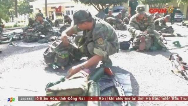 Bộ quốc phòng kiểm tra SSCĐ tại Tây Ninh