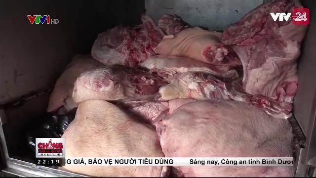Bình Dương bắt 1 tấn thịt lợn bẩn | VTV24