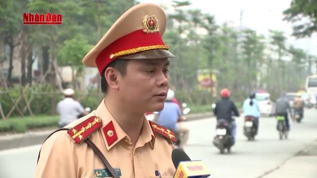 Xử phạt đối với các cá nhân lái xe đi ngược chiều trên cầu Nhật Tân
